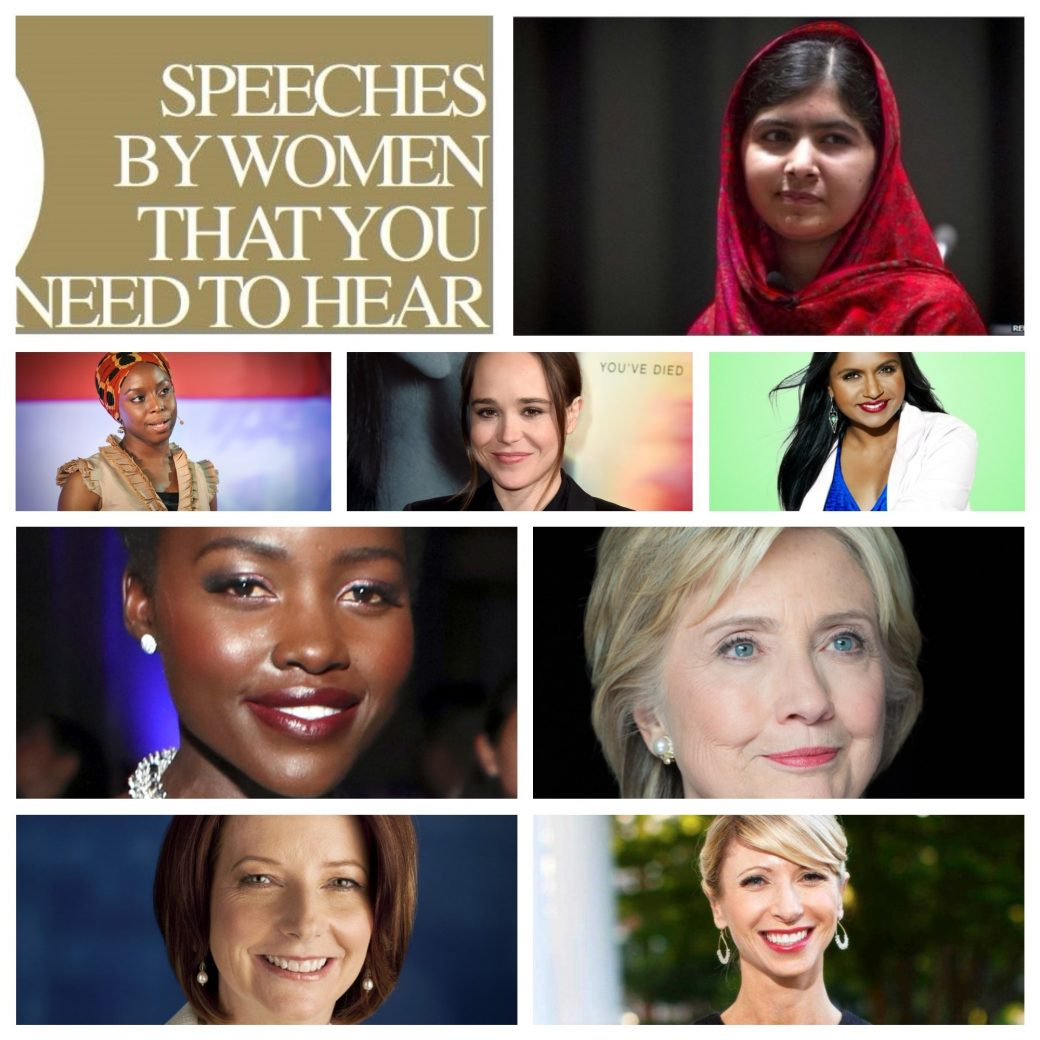 inspirational speeches by women