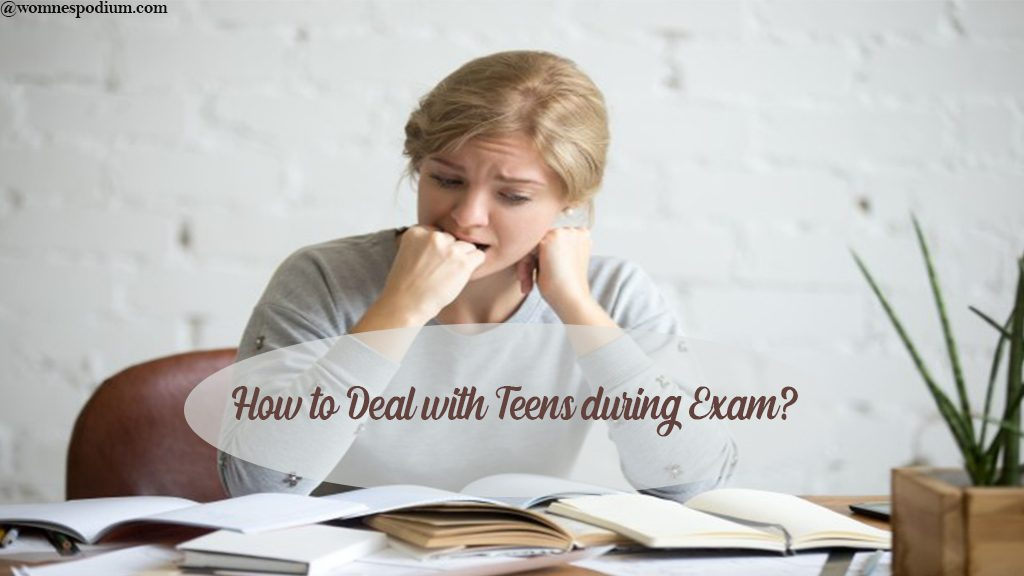exam fear in teens