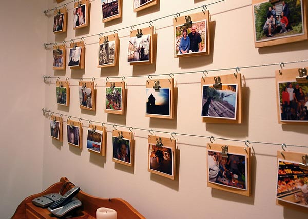 Personalize your home gallery