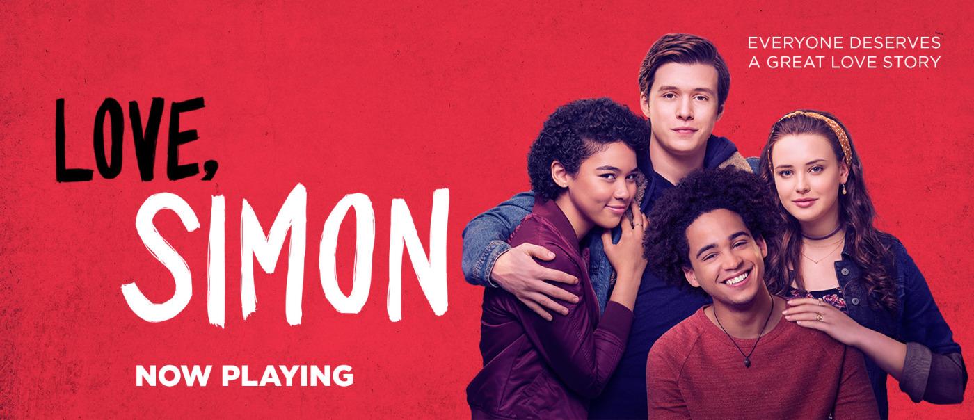 Love, Simon - books to movies