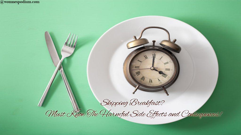 Omitting breakfast