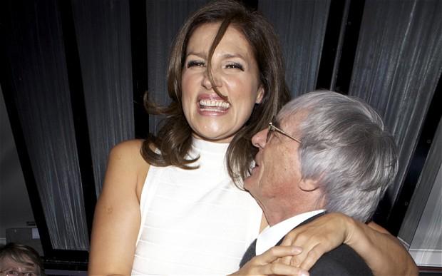 Bernie Ecclestone's divorce from Slavica