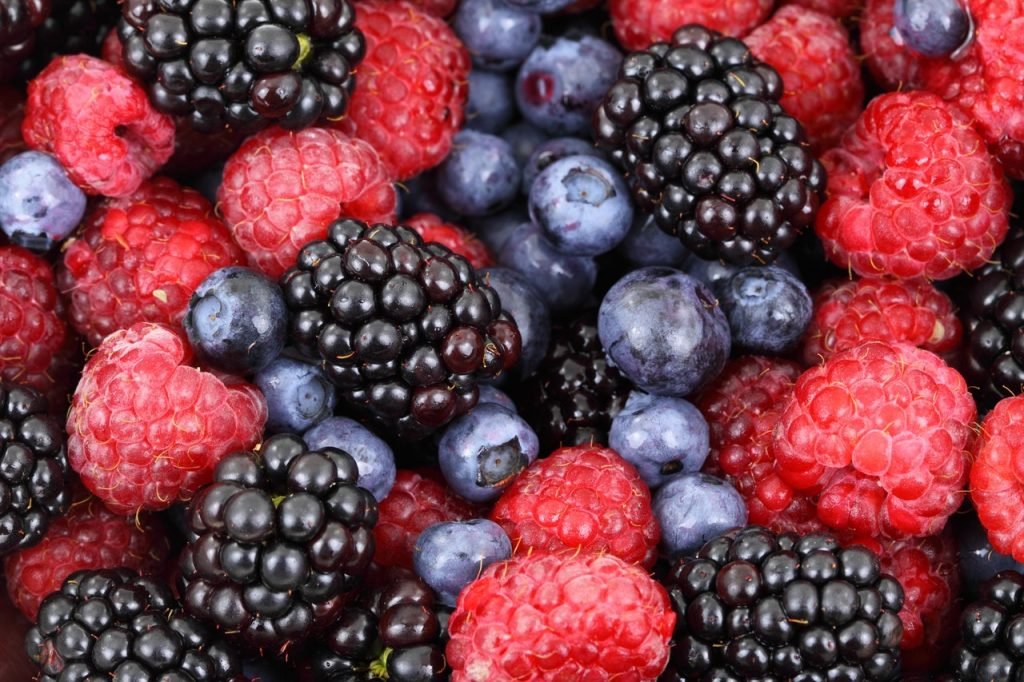 Blueberries the best food to shed weight