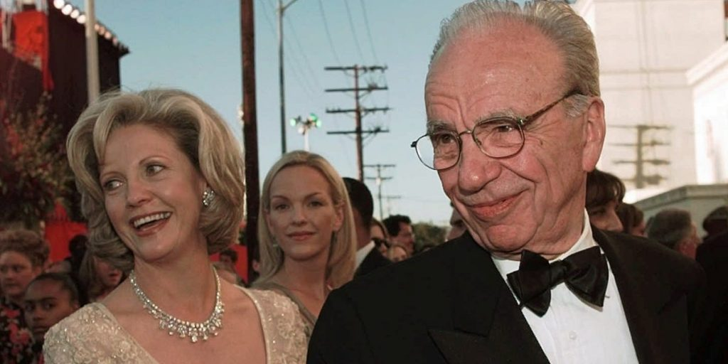 Rupert Murdoch and Anna's divorce