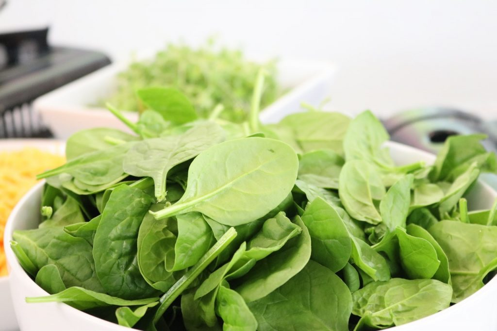 spinach beneficial to immune system