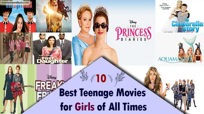 10 Best Teenage Movies for Girls of All Times