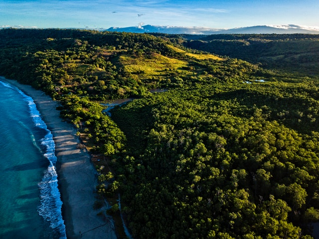 Pacific to Atlantic Coast, Costa Rica - off road trails
