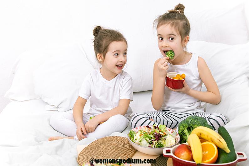 Pick their favorite vegetables