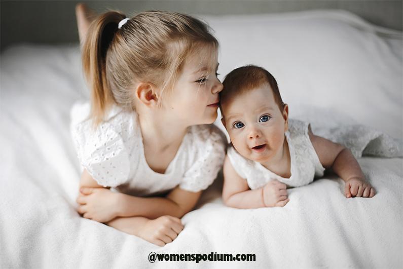 As siblings