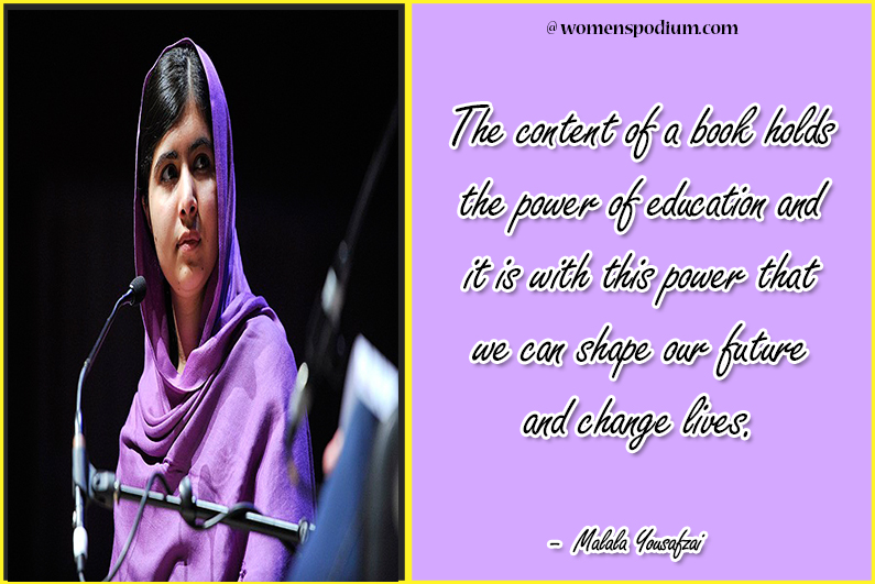 Malala Yousafzai - girl education