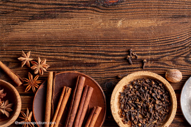 Cinnamon and Cloves are Helpful