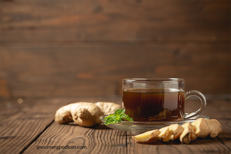 Try Ginger for Headaches