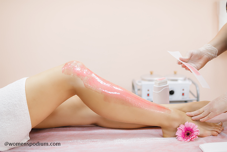 Waxing - hair removal methods
