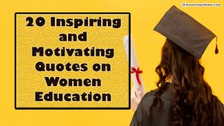 Quotes on women education