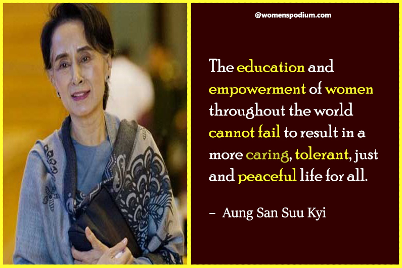 – Aung San Suu Kyi