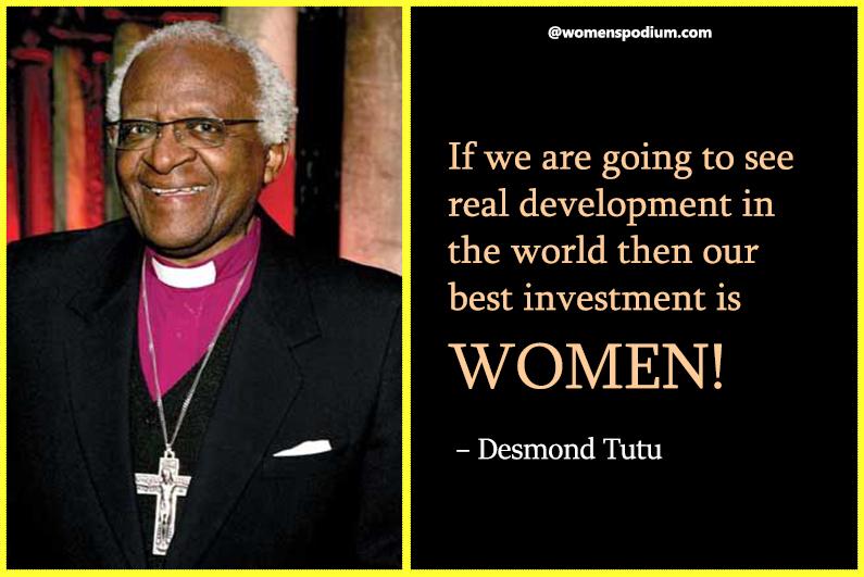 – Desmond Tutu