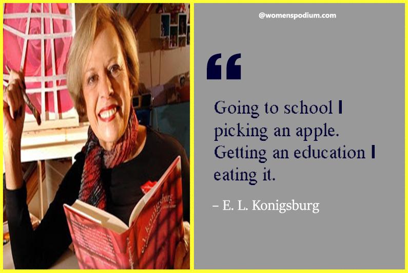 – E. L. Konigsburg