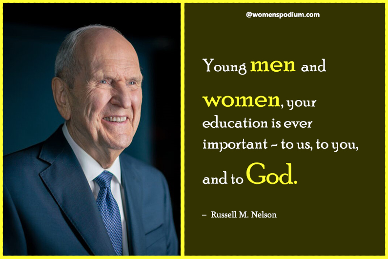 – Russell M. Nelson