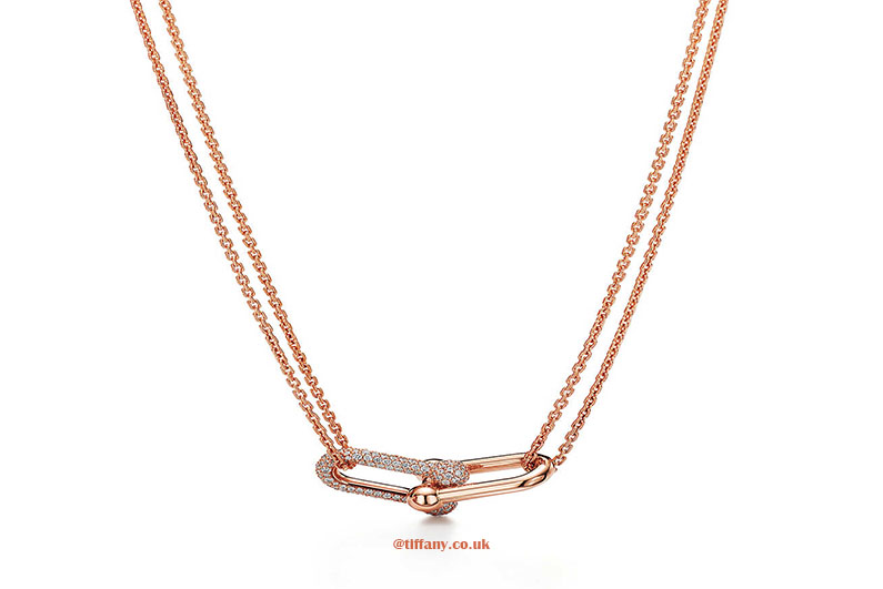 Tiffany Double Link Chain Necklace