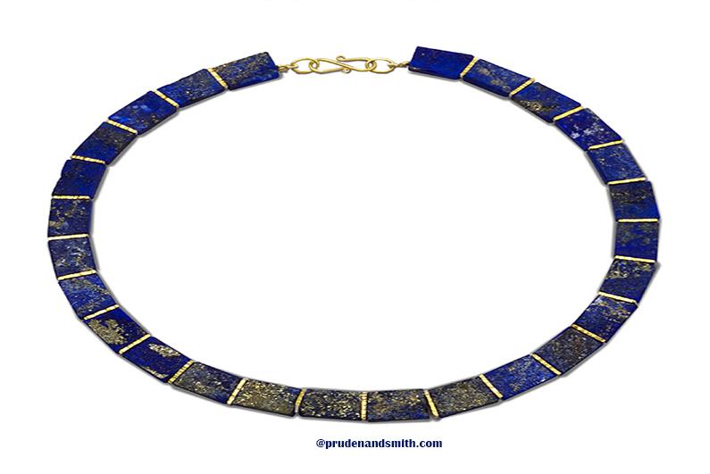 Lapis Lazuli Collar Necklaces