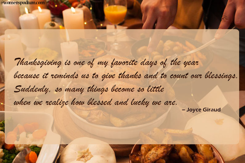 15 thanksgiving quotes