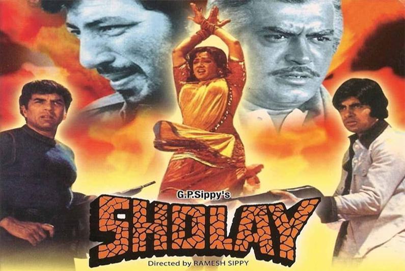 Sholay - Bollywood Movies