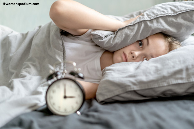 Insomnia or Incomplete REM cycles