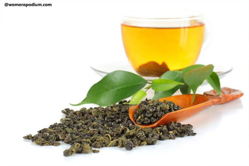 Green Tea - Heart-healthy foods
