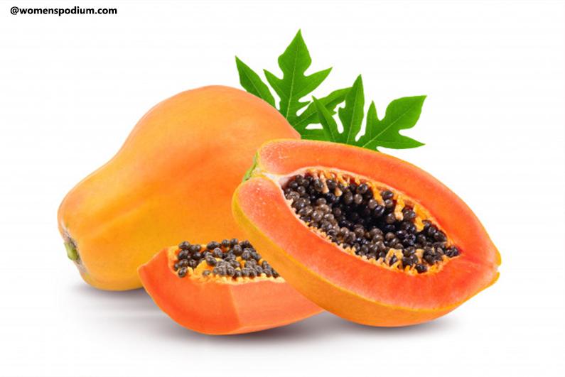 Papayas - Heart-healthy foods