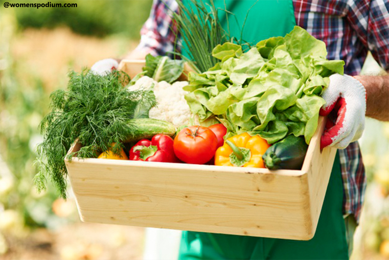 Homegrown Vegetables - Lifestyle Changes