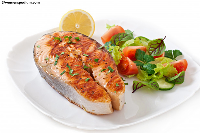 Citrus and Herb Baked Salmon- healthy dinner ideas