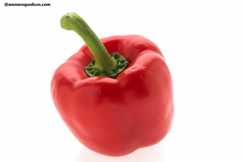 Red Bell Peppers - Heart-healthy foods