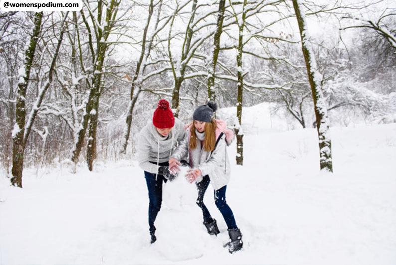 Enjoy The Snowy Winter