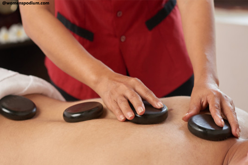 Hot Stone Massage - Dating ideas for the winter