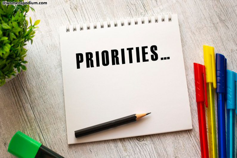 Organize Your Life - Get Your Priorities in Place