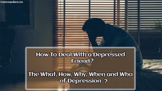 deal with a depressed friend