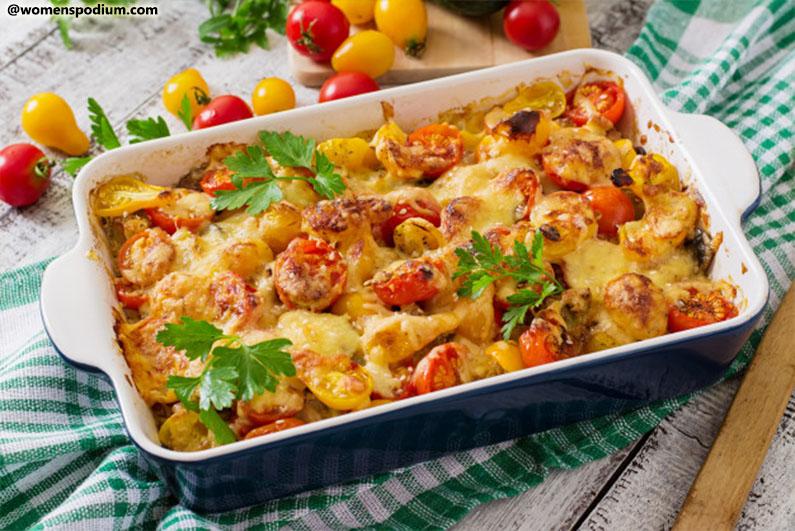 Breakfast Ideas for Teens - Vegetable Casserole