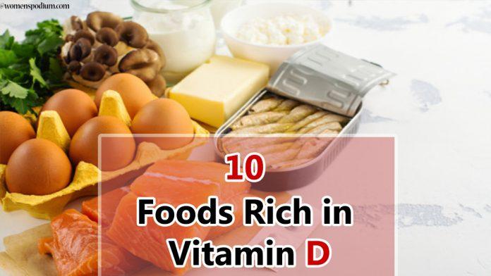 10 Foods Rich in Vitamin D