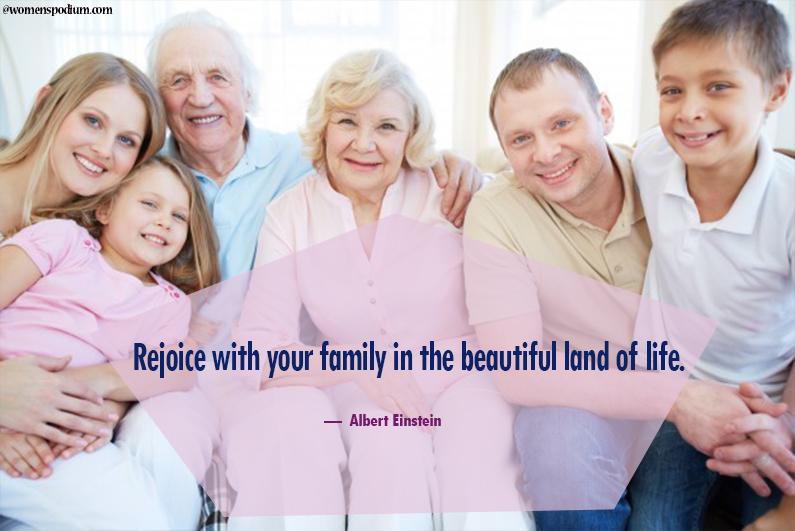Albert Einstein - family Quotes