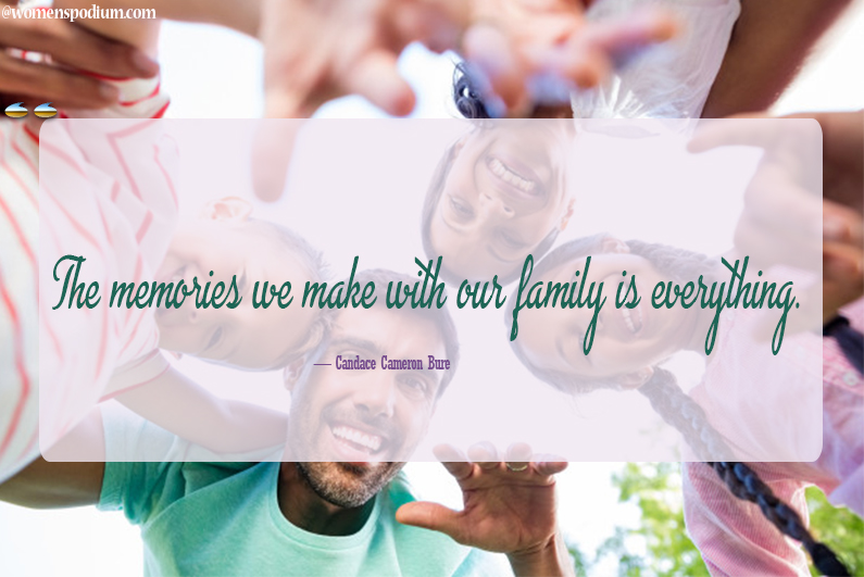 Candace Cameron Bure - family quotes