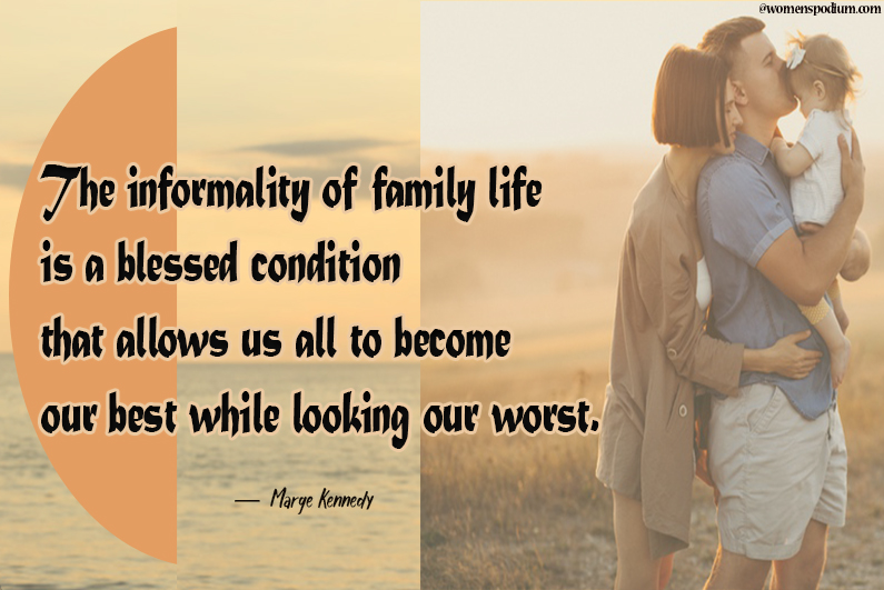 Marge Kennedy - family quotes