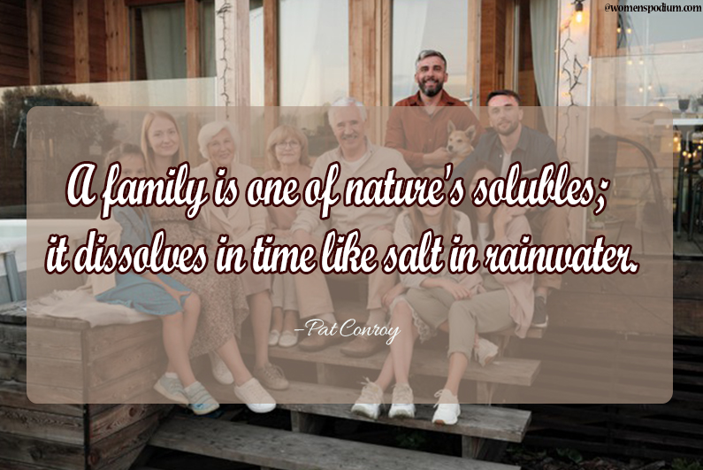 Pat conroy - family quotes