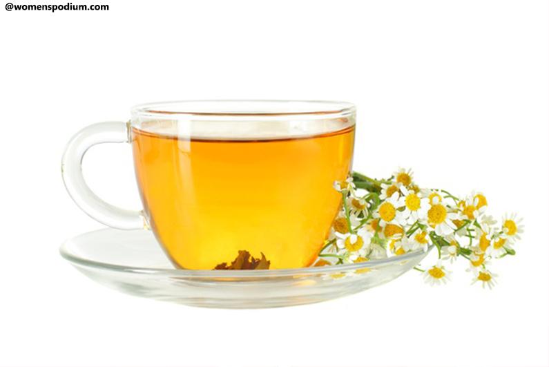 Foods for Sound Sleep - Chamomile Tea