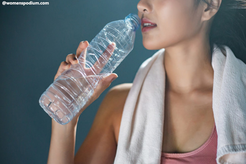 Health and Fitness Tips For Women - Keep Hydrated