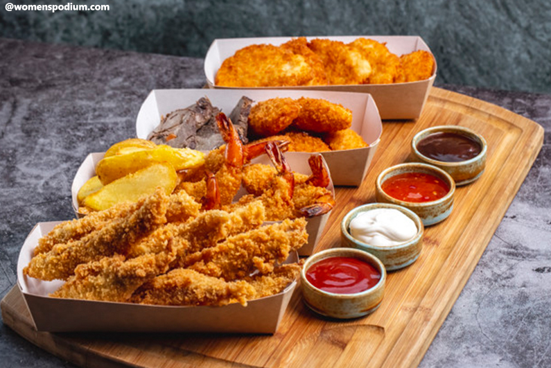 Foods Bad for Digestion - Fried Food