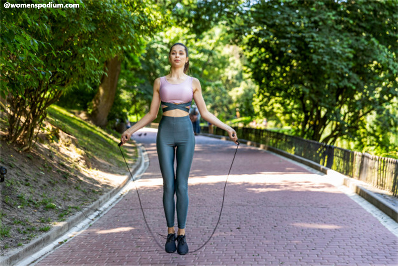 Jump Rope Benefits - Maintain the Right Posture
