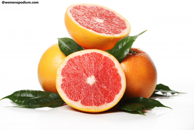 Vitamin-A-Rich Foods - Red Grapefruit