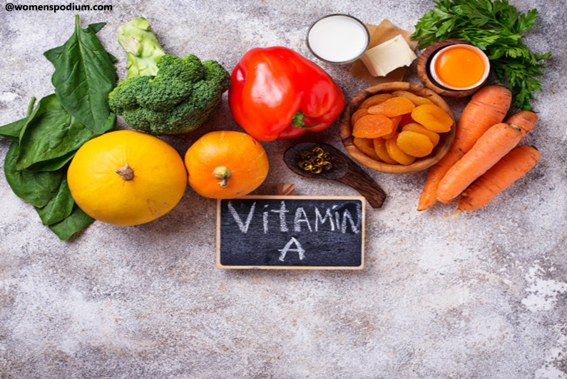 Vitamin-A-Rich Foods - Protein Formation