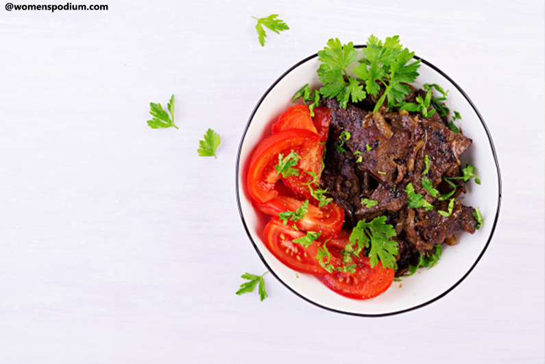 Vitamin-A-Rich Foods - Beef Liver