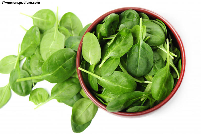 Vitamin-A-Rich Foods - Spinach